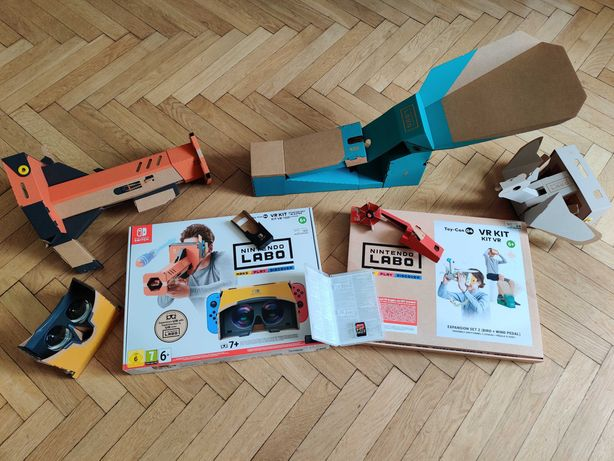 Nintendo Labo VR Kit + Expansion Set 2