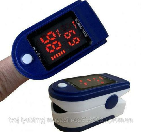Пульсоксиметр на палец электронный Пульсометр Гарантия 12 месяцев!