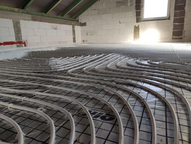 Instalacje hydraulik ogrzewanie podłogowe wod-kan