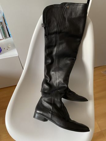 Ботфорты zara ботинки