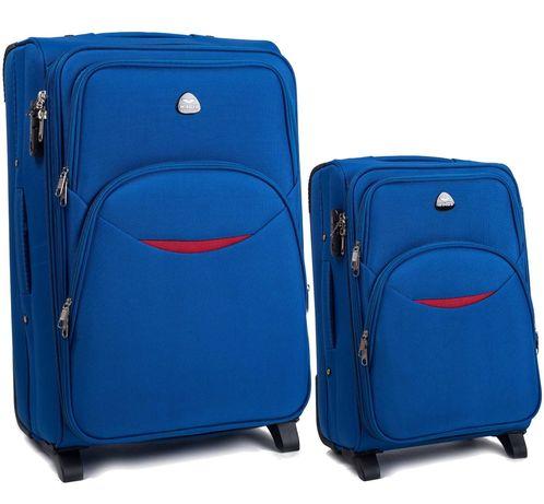 WINGS 1708 Польща на 2-х. кол. валізи чемоданы сумки на колесах