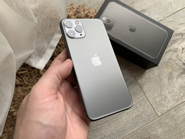 iPhone 11 Pro 64gb Neverlock Полный Комплект Space Gray #809