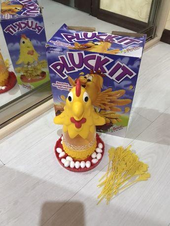 настольная игра PLUCK IT   курица с насестом