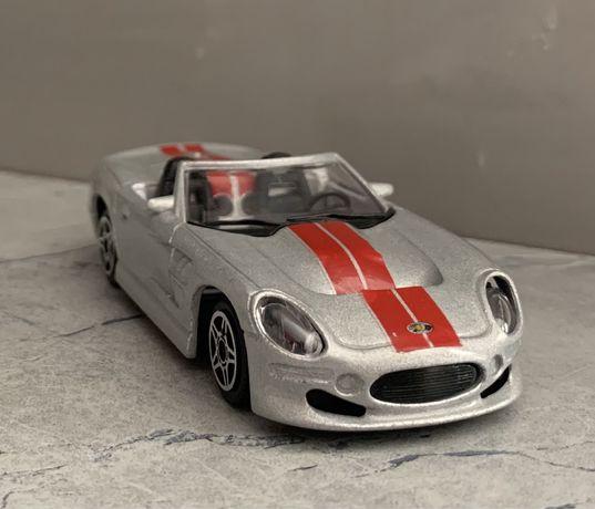 "Модель авто, 1/43 ""SHELBY SERIES 1"", made in Italy."