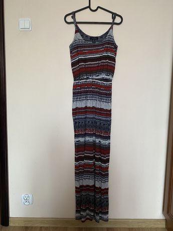 Dluga sukienka maxi rozmair 38 na ramiaczkach
