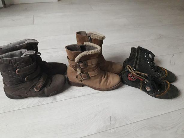 Демісезонні чоботи сапоги ботинки 34 розмір