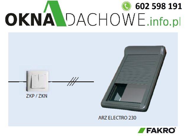 Roleta do okna dachowego ARZ Electro 230 OptiLight FAKRO 78x118 cm
