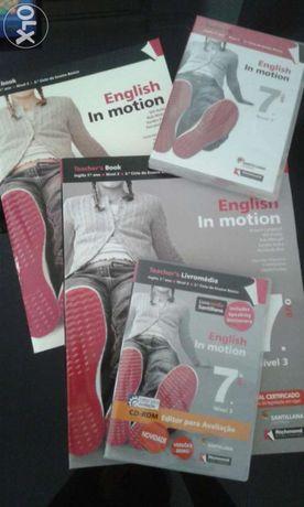 English In Motion 7* ano manual do aluno e do professor