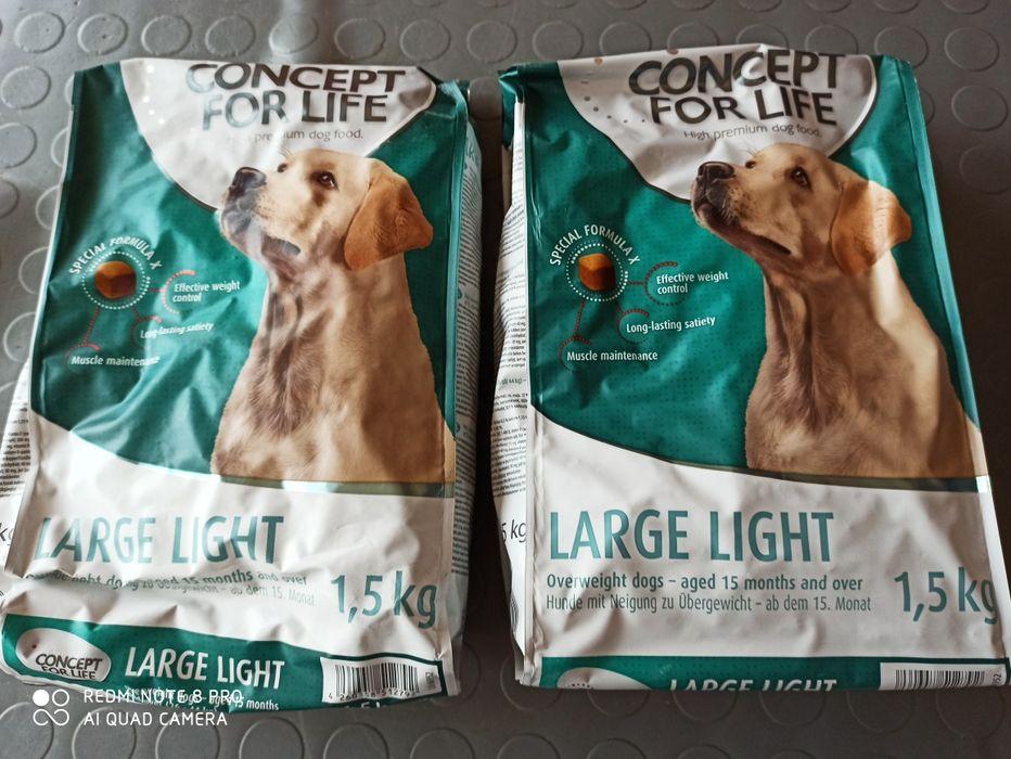 Concept for life Light 1,5kg karma dla psa dietetyczna na odchudzanie Gdynia - image 1