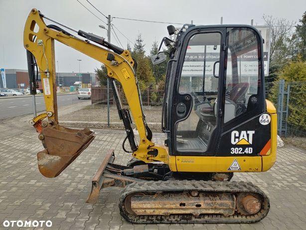 Caterpillar 302.4 D  Minikoparka Caterpillar CAT 302.4 D , 2 łyżki , szybkozłącze