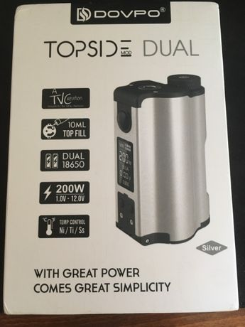 Dovpo Topside Dual 200w voopoo eleaf joyetech dna vaporesso lost vape