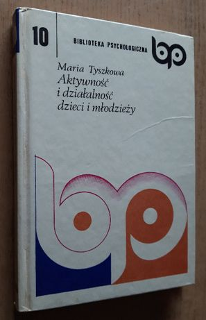 Maria Tyszkowa - Aktywność i działalność dzieci i młodzieży