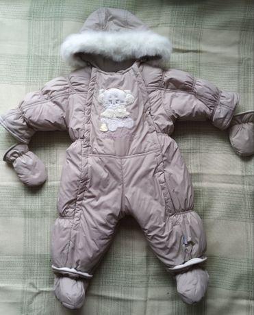 GARDEN BABY Комбінезон трансформер зимовий  80р