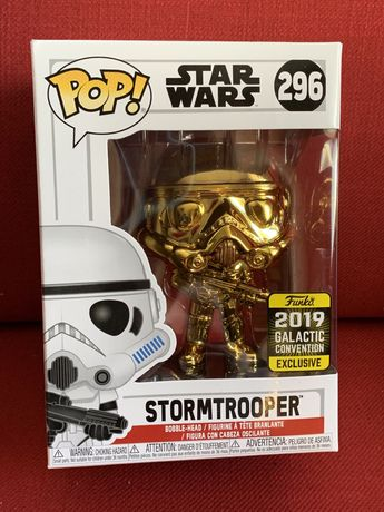 Funko pop! Figurka Star Wars- nr296 Stormtrooper  2019 GC exclusive