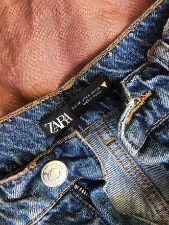 Spodnie momjeans Zara 36