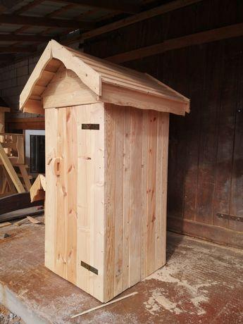 WC Kibel drewniany