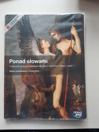 """""""Ponad słowami"""" podręcznik do J.polskiego dla liceum i technikum"""