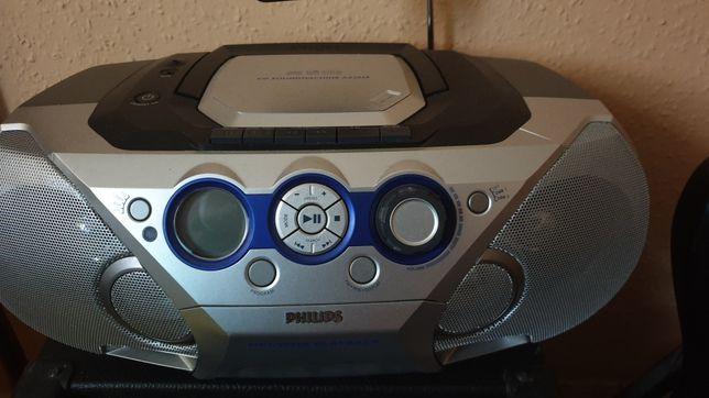Mp3 radio cd i kaseta Philips