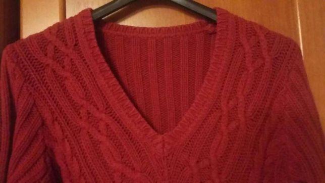 Sweter damski w szpic M