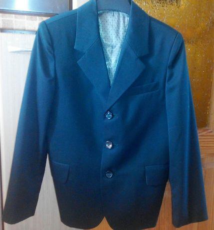 Пиджак школьный зеленый Milana 128 см