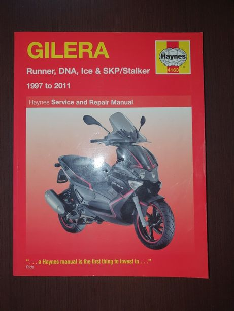 Gilera Runner, DNA, Ice, SKP / Stalker 1997 - 2011 Haynes