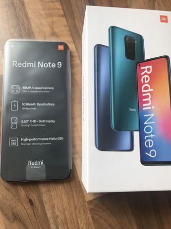Xiaomi Redmi Note 9 4gb ram 128gb rom Midnight Grey NOWY