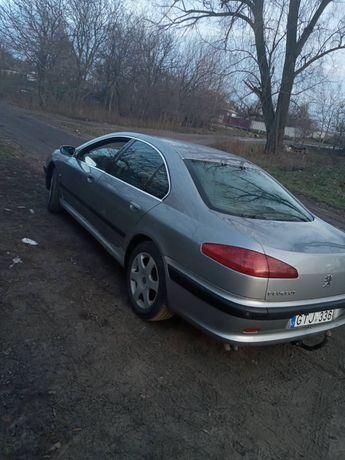Машина Пежо 607 на еврономерах