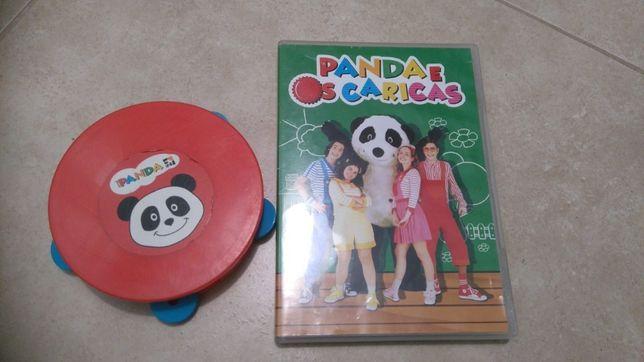 Panda e os caricas Dvd mais pandeireta e com portes incluidos