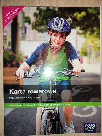 "Książka ""Karta rowerowa"""