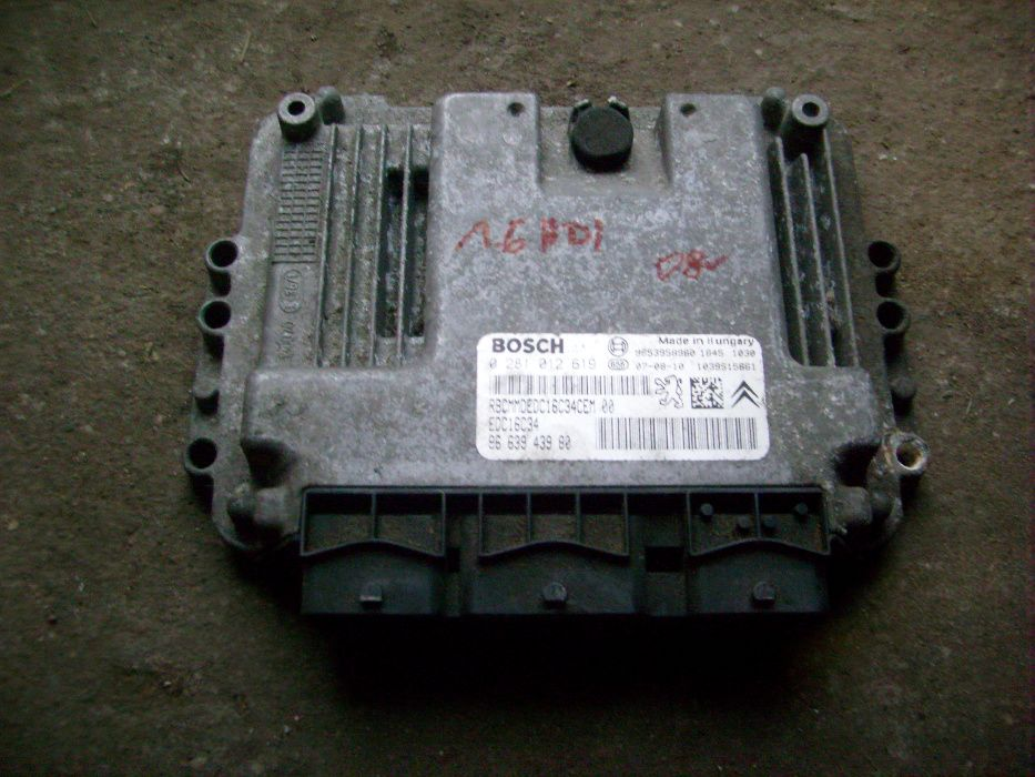 Komputer sterownik silnika Citroen Peugeot 1,6 HDI 965.3958.980