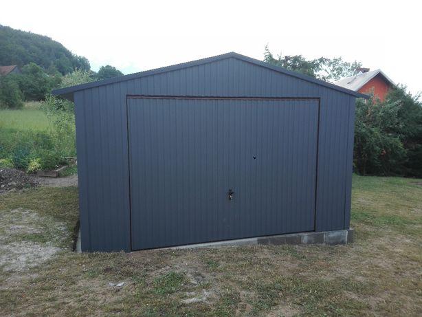 garaż 4x6,6x6,6x7, garaże blaszane na wymiar, wzmocnione profilem