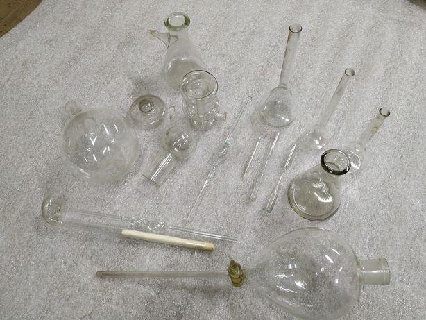 Колби, хімічні прибори.