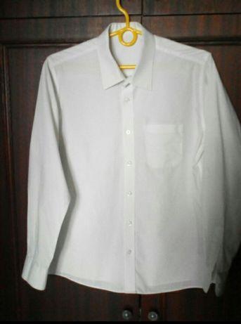 Рубашка школьная на 15-16 лет, рост до 176 см