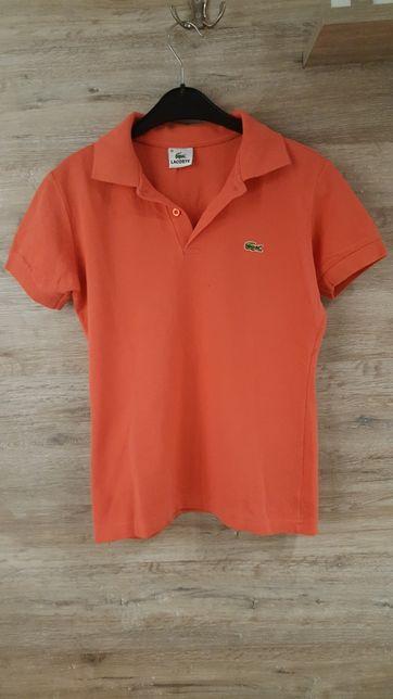 Koszulka Polo różowa LACOSTE roz. 36