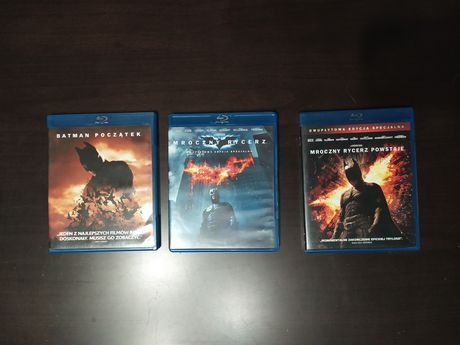 Batman trylogia Nolana blu-ray