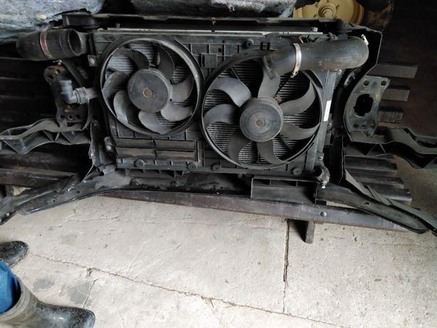 Chłodnica pas przedni belka Volkswagen Passat B6 140 KM Common Rail