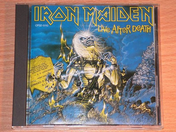 Iron Maiden - Live After Death CP32-5110 Japan (Black triangle)