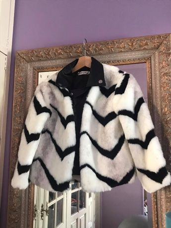 Tamanho M - casaco de pêlo