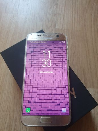 Samsung Galaxy S7 4/32GB gold platinium 100% sprawny