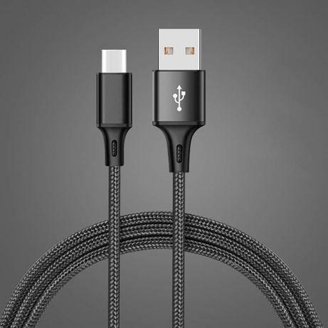 Cabo USB-C trançado em nylon!!