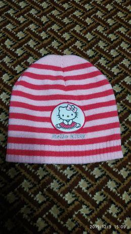 Детская шапка деми, зимняя.