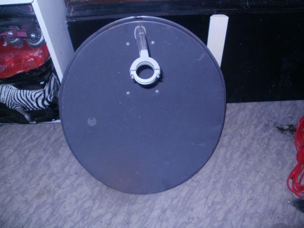 Antena satelitarna + konwerter podwójny +uchwyt
