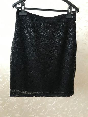 Продам чёрную юбку карандаш H&M