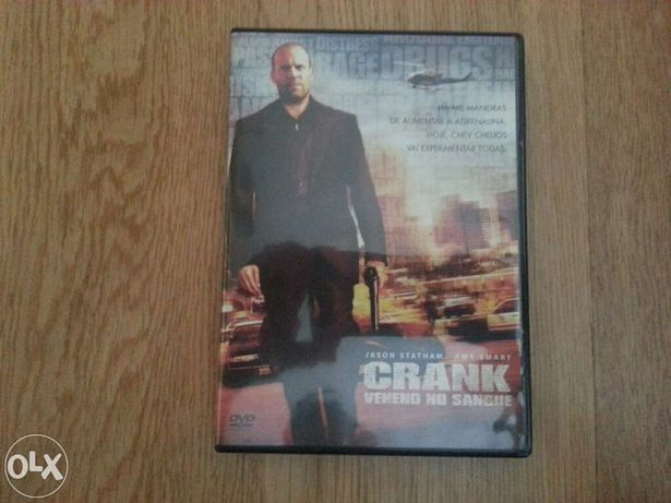 DVD original Crank - veneno no sangue