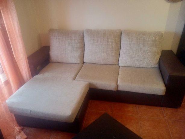 Sofá chaise lounge como novo