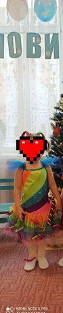 Плаття костюм конфетка цукерочка цукерка новогодний костюм