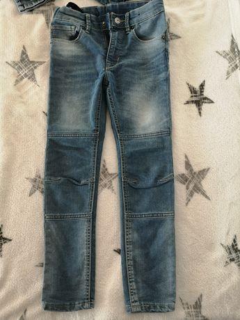 H&M DENIM spodnie rozm. 122