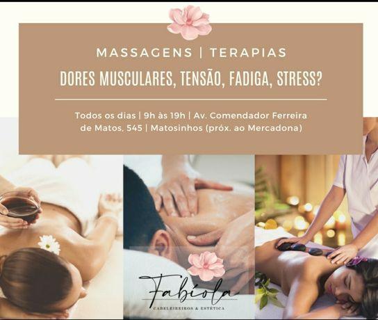 Massagens Terapêuticas - Matosinhos Sul