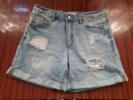 Шорты  джинсовые 34 размер