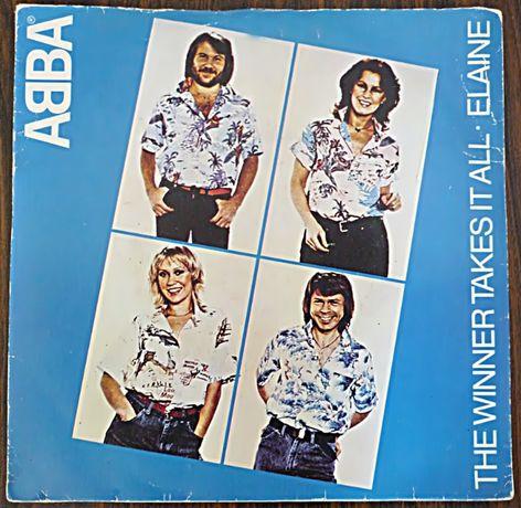 (Raro) Vinil single - ABBA - The winner takes it all